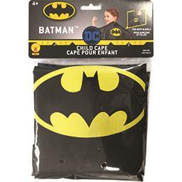 Cape pour enfant Batman une taille