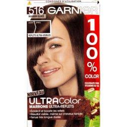 100% Color - Coloration permanente Marron Glacé 516