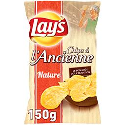 Chips à l'ancienne nature