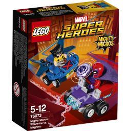 Marvel Super Heroes - Mighty Micros Wolverine VS Magneto