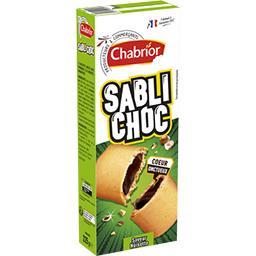 Biscuits Sabli'Choc saveur noisette