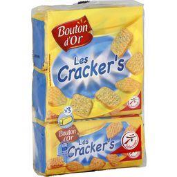 Les crackers, biscuits salés
