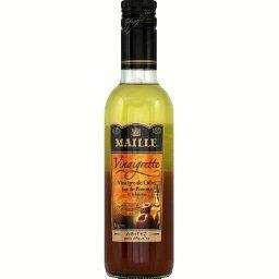 Vinaigrette vinaigre de cidre, jus de pomme et échal...