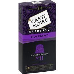Espresso - Café capsules Puissant n°11