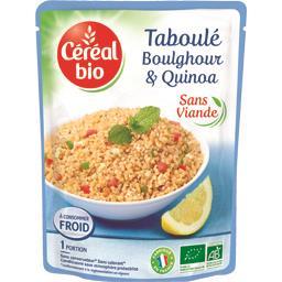 Taboulé boulghour et quinoa BIO