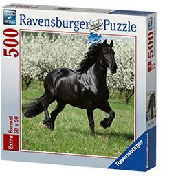 Puzzle 50x50 cm 500 pièces Etalon noir