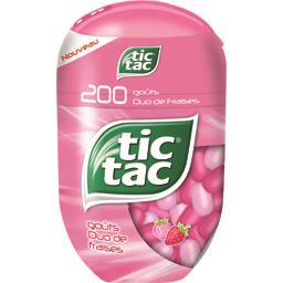 Tic Tac - Pastilles goût duo de fraises