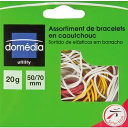 Assortiment de bracelets en caoutchouc