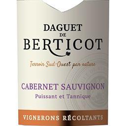 Vin de pays Atlantique cabernet sauvignon, vin rouge