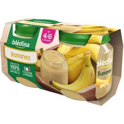 Desserts bananes, dès 4/6 mois