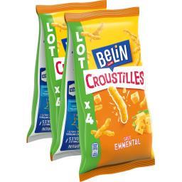 Belin Croustilles - Biscuits apéritif goût emmental