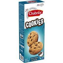 Cookies coco & pépites de chocolat