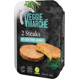 Steaks de soja fines herbes