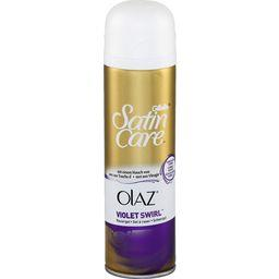 Satin Care - Gel à raser Violet Swirl avec une touch...