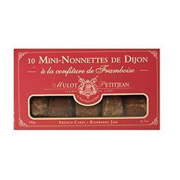 Mini-nonnettes de Dijon à la confiture de framboise