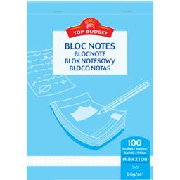Bloc-notes 14,8x21 cm petits carreaux