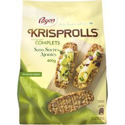 Petits pains suédois Complets s/sucres ajoutés
