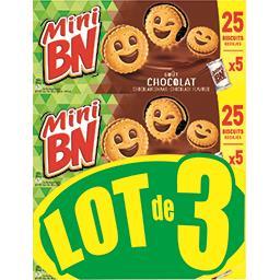 Mini - Biscuits fourrés goût chocolat
