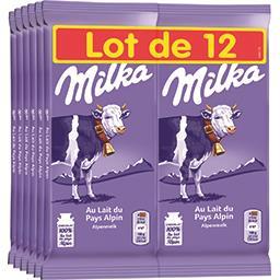 Milka Chocolat au lait du pays alpin