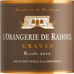 Graves L'Orangerie de Rahoul - Grand Vin de Bordeaux...