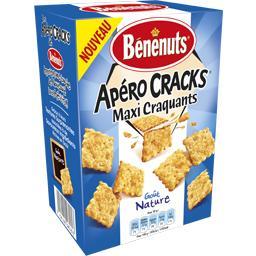 Apéro Cracks maxi craquants goût nature
