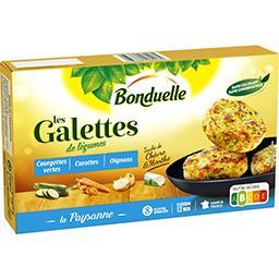 Les Galettes - Galettes de légumes La Paysanne