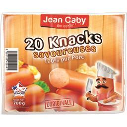 Jean Caby Knack savoureuse le paquet de 20 - 700 g