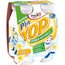 P'tit Yop - Yaourt à boire goût vanille