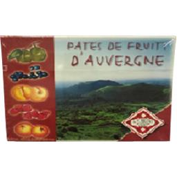 Pates de fruits d'auvergne