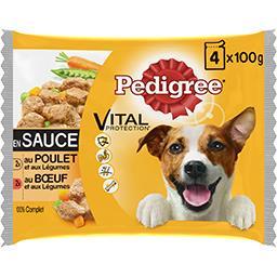 Vital Protection - Pâtée en sauce poulet et bœuf pou...