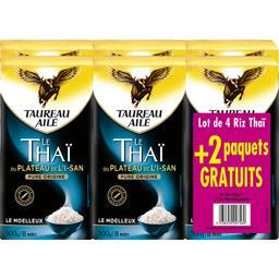 Taureau Ailé Riz le Thaï du plateau de l'I-San les 4 paquets de 500 g