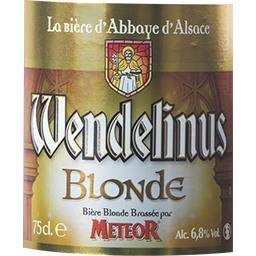 Bière blonde Wendelinus
