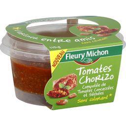 Compotée de tomates chorizo