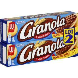 LU LU Granola - Biscuits sablés au chocolat au lait L'Orig...