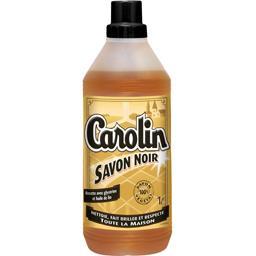 Nettoyant savon noir glycérine huile de lin