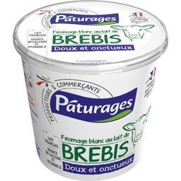Fromage blanc au lait de brebis