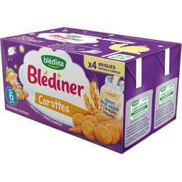 Blédîner - Céréales lactées carottes, dès 6 mois
