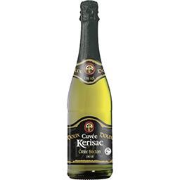 Cidre Bouché Cuvée Breton pur jus doux 2,5% Cidre pur jus très fruité, légé et peu alcoolisé