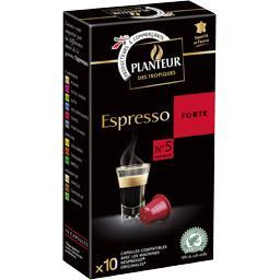 Café capsules Espresso Forte