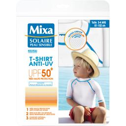 Solaire Peau Sensible - T-shirt enfant anti-UV 50+ taille 3-4 ans 81-102 cm