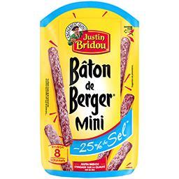 Le Bâton de Berger - Mini saucisson sec réduit en se...