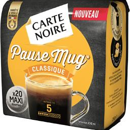 Dosettes de café moulu Pause Mug, Classique