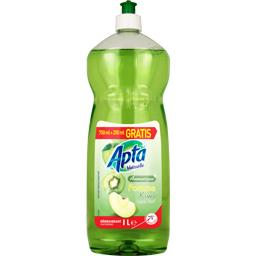 Apta Vaisselle - Liquide vaisselle Aromatique pomme kiwi le flacon de 750 ml