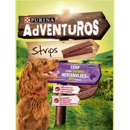 Strips arôme cerf pour chiens