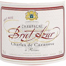 Champagne Azur vin Rosé