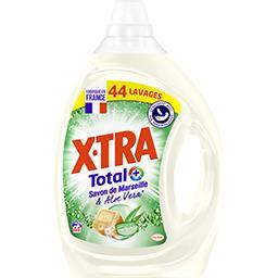 Total+ - Lessive liquide Marseille et aloe vera