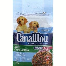 Croquettes Junior poulet & légumes pour chiens