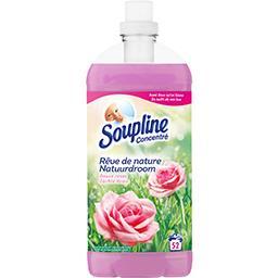 Soupline Adoucissant concentré Rêve de nature douce rosée