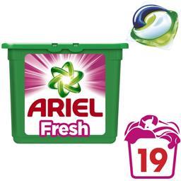 3en1 Pods sensations de fraîcheur rose lessive ecodose