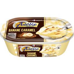 Crème glacée banane caramel